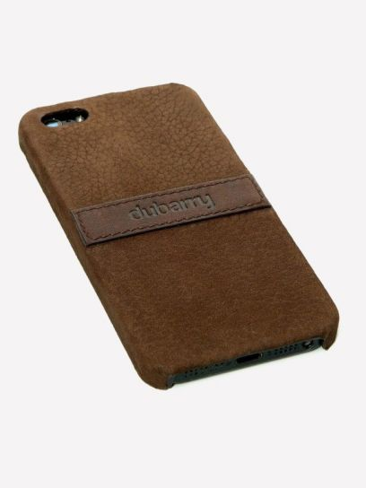 Dubarry Portlaw iPhone 5 Cover - Walnut