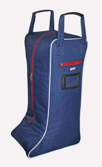 Roma Cruise Boot Bag - Navy/Red/White
