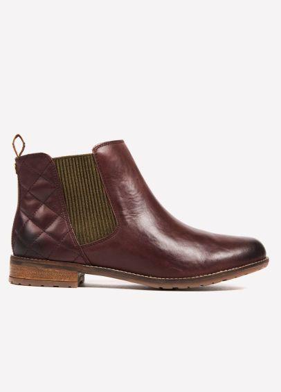 Barbour Abigail Short Boot - Wine