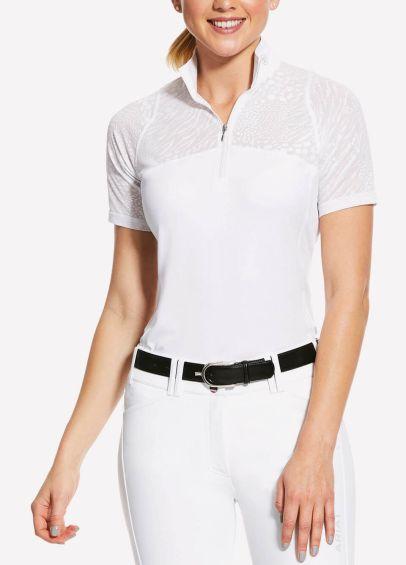 Ariat Womens Airway Show Shirt - White