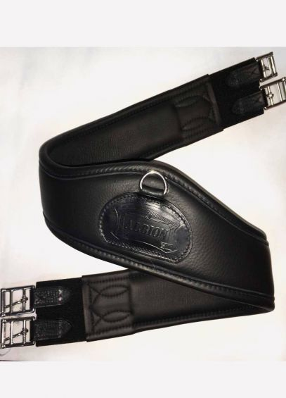 Albion New Long Girth With D-Ring - Black
