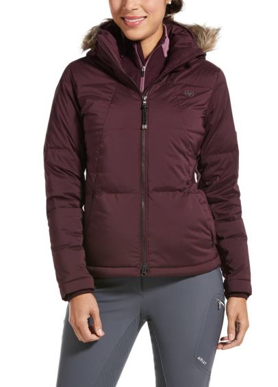 Ariat Ladies Altitude Down Jacket - Winetasting