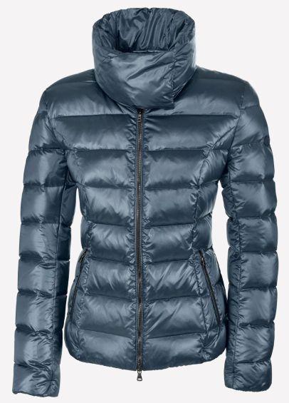 Pikeur Ladies Amber Down Jacket - Steel Blue