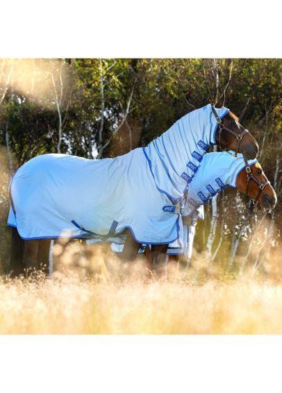 Amigo Pony Ripstop Hoody - Azure