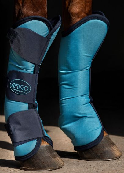 Amigo Ripstop Travel Boots - Delphinium