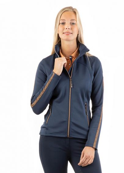 Anky Bonded Jacket - Dark Navy