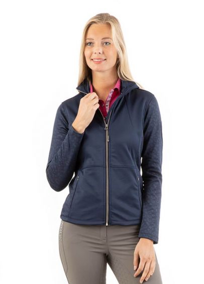 Anky Printed Technostretch Jacket - Dark Navy