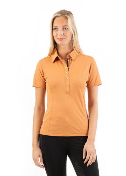 Anky Essential Polo Shirt - Copper