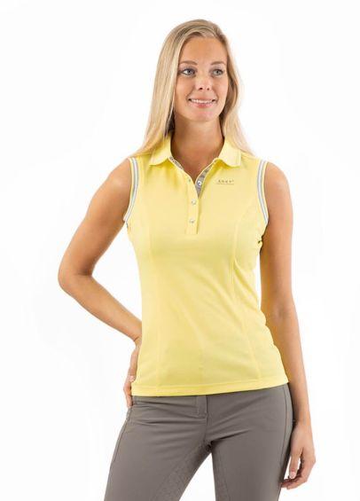 Anky Sleeveless Polo Shirt - Lime Light
