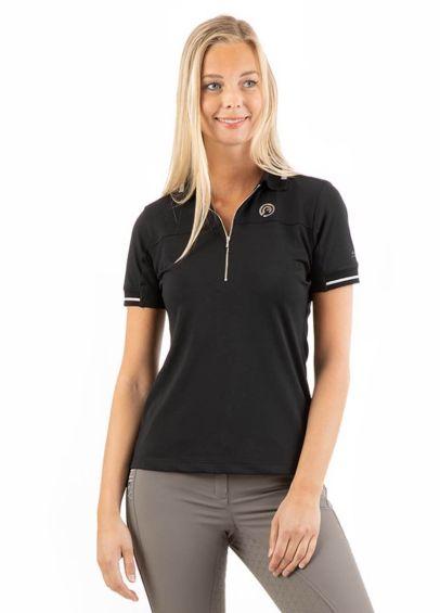 Anky Short Sleeve Polo Shirt - Black