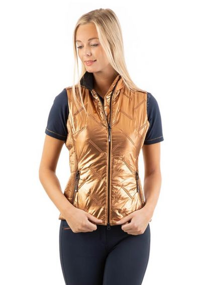 Anky Quilted Waistcoat - Copper