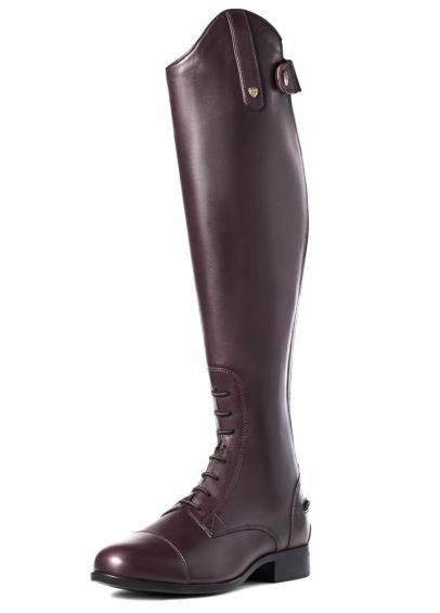 Ariat NEW Heritage Contour II Field Zip Boots - Sienna