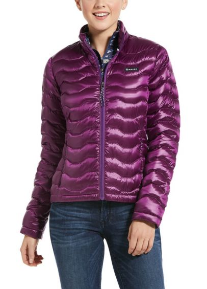Ariat Ladies Ideal 3.0 Down Jacket - Imperial violet