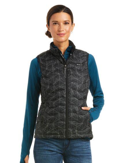 Ariat Womens Ideal 3.0 Reflective Vest - Black