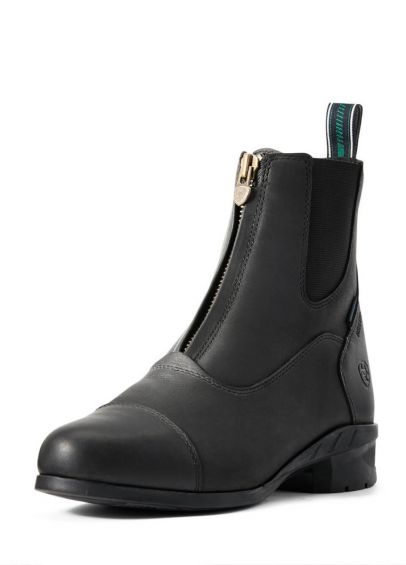 Ariat Womens Heritage lV  Insulated H20 Zip Boots - Black