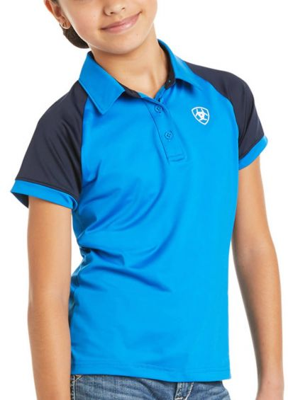Ariat Kids Team 3.0 Polo - Imperial Blue