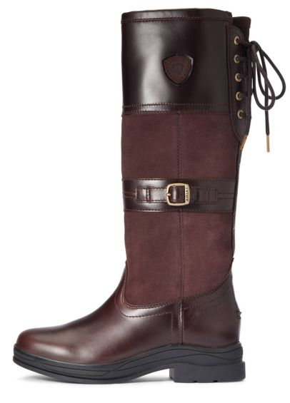 Ariat Womens Langdale H20 Boots - Wax Chocolate