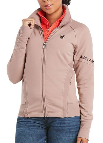 Ariat Largo Full Zip Sweatshirt - Antler