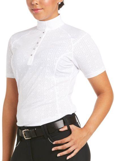 Ariat Showstopper 3.0 Show Shirt - White