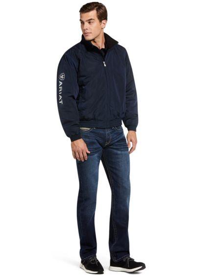 Ariat Men's Stable Jacket - Navy