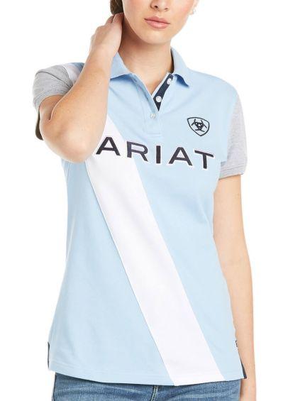 Ariat Taryn Polo - Blue Bell