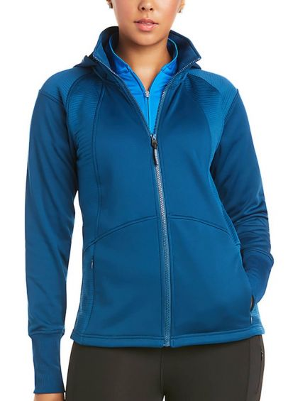 Ariat - Wilde Full Zip Sweatshirt - Blue Opal