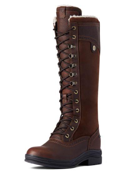 Ariat Wythburn Tall Waterproof Boot - Dark Brown