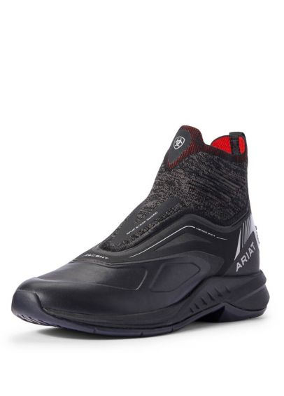 Ariat Limited Edition Ascent Paddock Boot - Black/Red