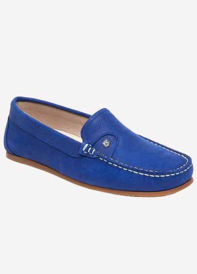 Dubarry Womens Bali Deck Shoes - Cobalt