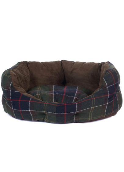 Barbour Luxury Dog Bed - Classic Tartan
