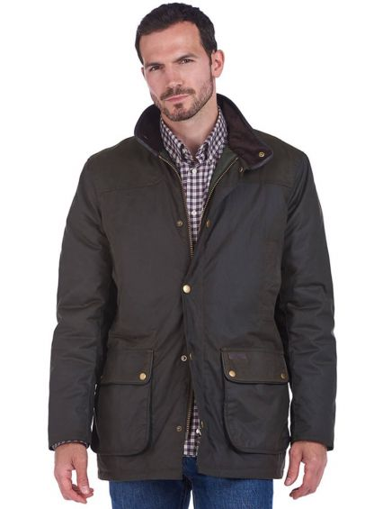 Barbour Mens Hartlington Jacket - Olive