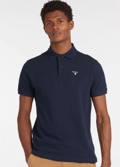 Barbour Sports Polo Shirt - Navy