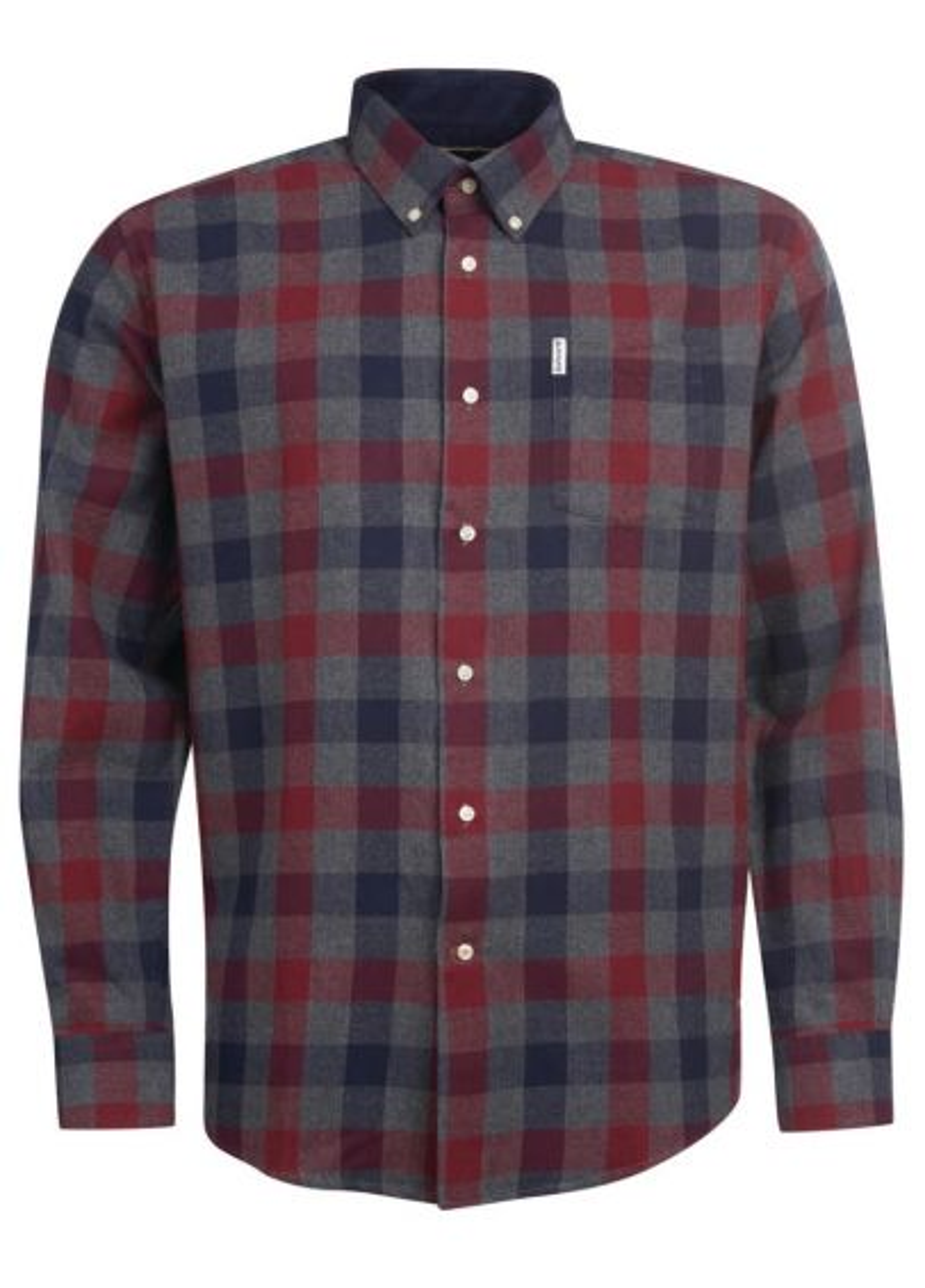 Barbour Mens Westoe Shirt - Navy
