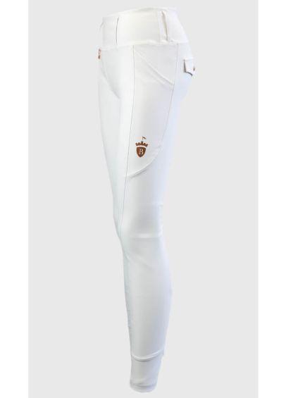 Blackfort Equestrian Breggings - White