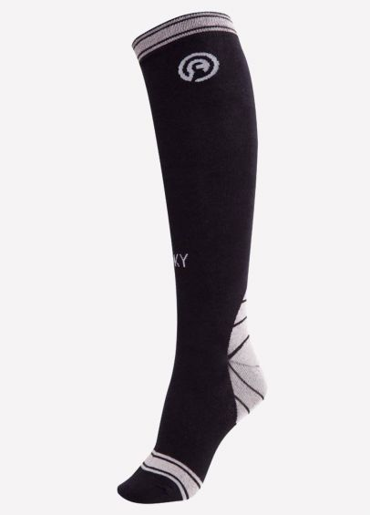 Anky Technical Riding Socks - Black Sea