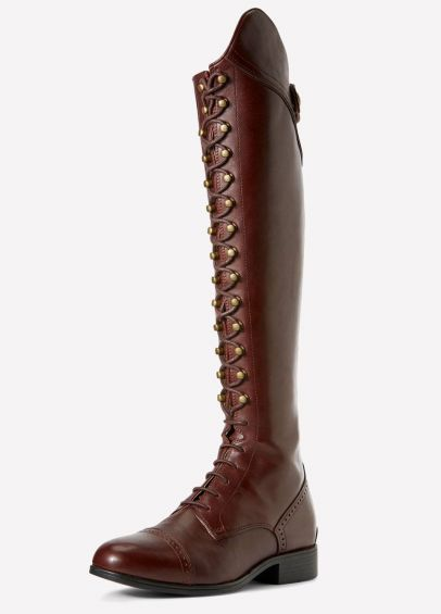 Ariat Ladies Capriole Tall Riding Boots - Mahogany