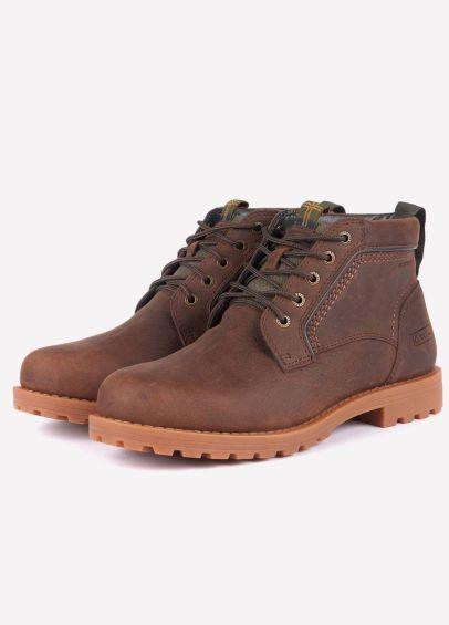 Barbour Mens Carrock Boots - Dark Brown