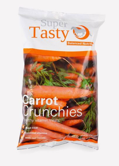 Super Tasty Crunchies - Carrot