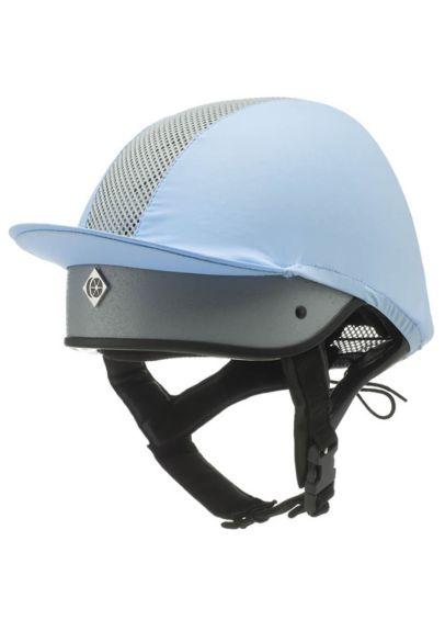 Charles Owen This Esme JS1 Pro Riding Helmet - Silver