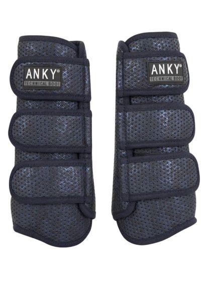 Anky Technical Climatrole Tendon Boots - Dark Navy