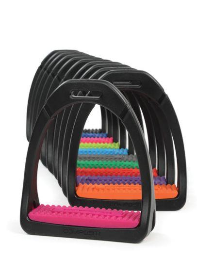 Shires Compositi Premium Profile Stirrups - Pink