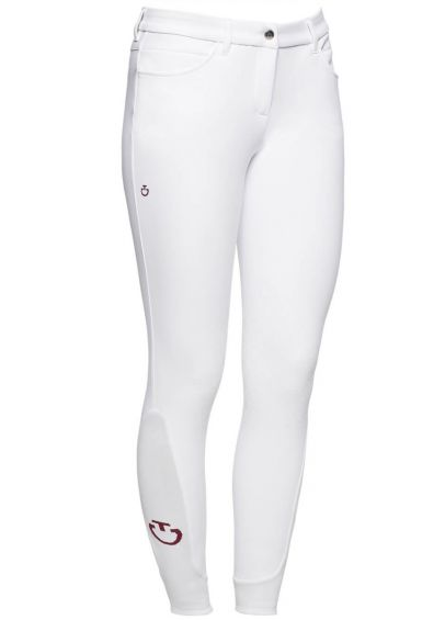 Cavalleria Toscana New Knee Grip Breeches - White