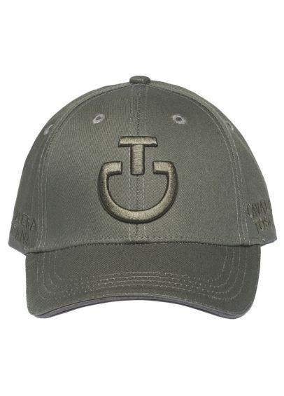 Cavalleria Toscana Logo Cotton Cap - Dark Grey