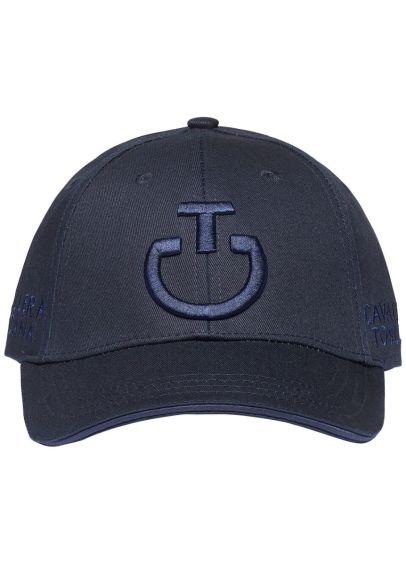 Cavalleria Toscana Logo Cotton Cap - Navy