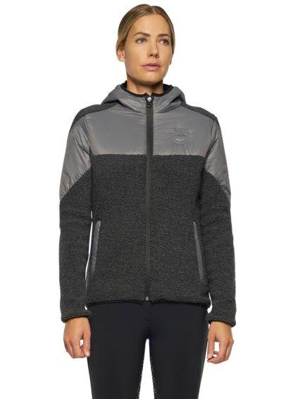 Cavalleria Toscana Sherpa Fleece Jacket - Grey
