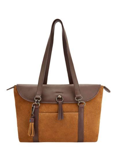 Dubarry Womens Parkhall Tote Bag - Camel