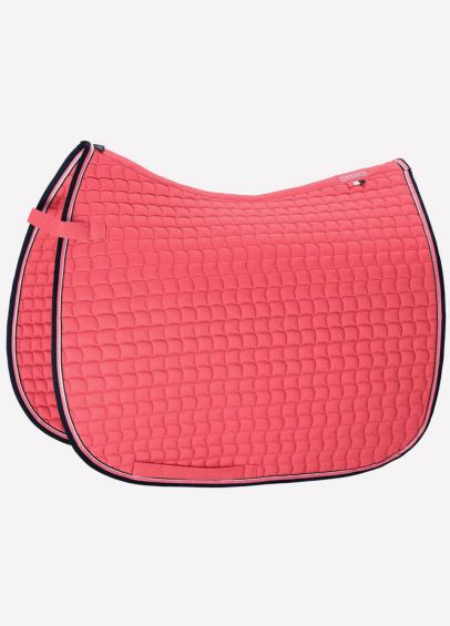 Eskadron Classic Sports Cotton Dressage Pad - Fusion Coral