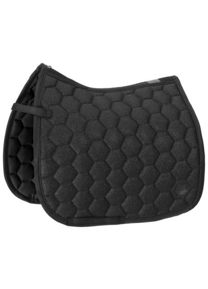 Eskadron Glitter Mesh Saddle Cloth DL - Black