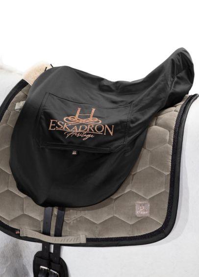 Eskadron Heritage Saddle Cover - Black