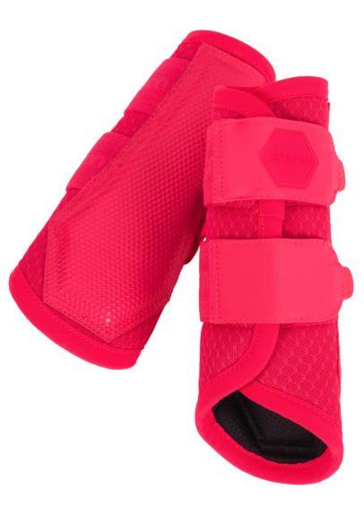 Eskadron Mesh Tendon Boots - Pink